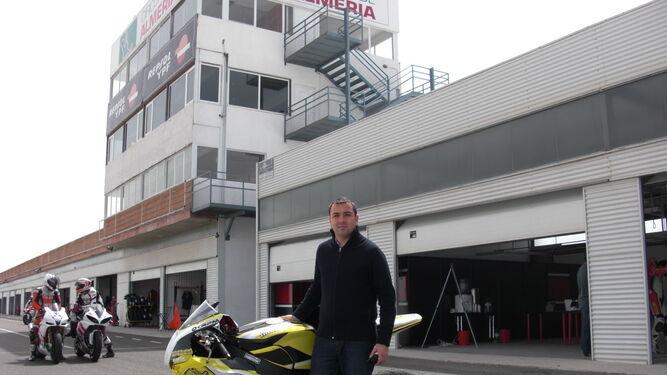 El director y copropietario del Circuito de Almería, David García.