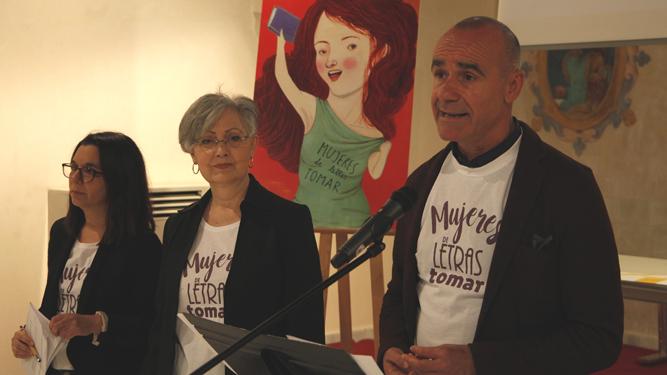 Una imagen de la presentación, con Antonio Muñoz en primer plano.