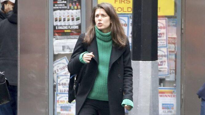 Foto publicada que evidencia el embarazo de Carlota.