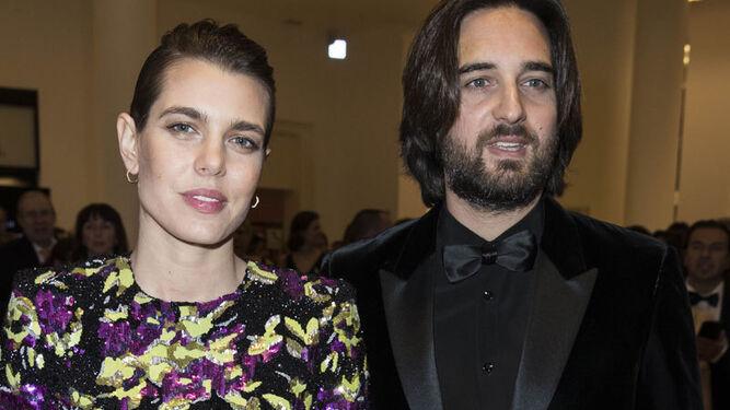 La princesa, con su futuro marido, en los premios Cesar.