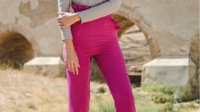 Pantalón buganvilla de Trajano 11.