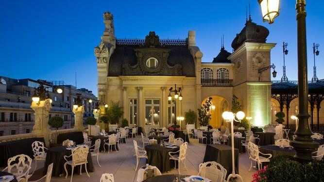 La terraza del Casino, en Madrid, del chef Paco Roncero.