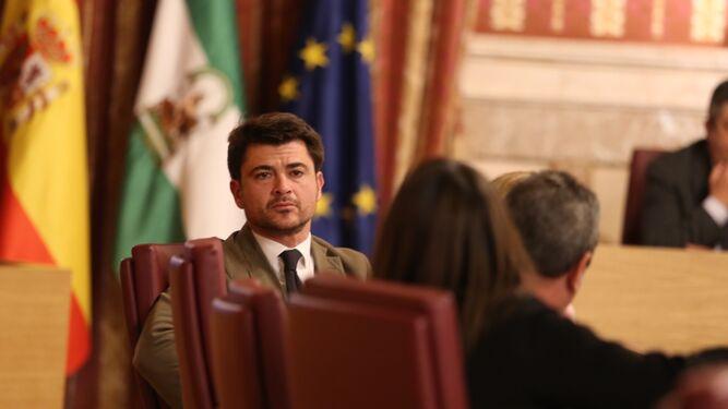Beltrán Pérez, portavoz del PP.