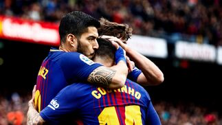 Las imágenes del Barcelona-Valencia