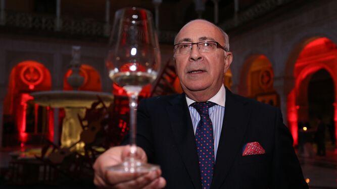 Antonio Flores, enólogo y 'master blender' de la bodega González Byass.