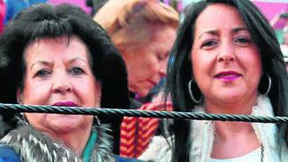 Pilar Cañas y Susana Vila.