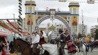 Las imágenes del Domingo de Feria