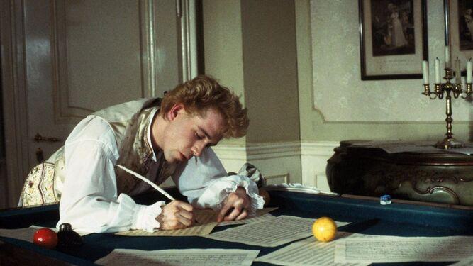Tom Hulce, el Mozart de 'Amadeus', el mayor éxito en la trayectoria del director.