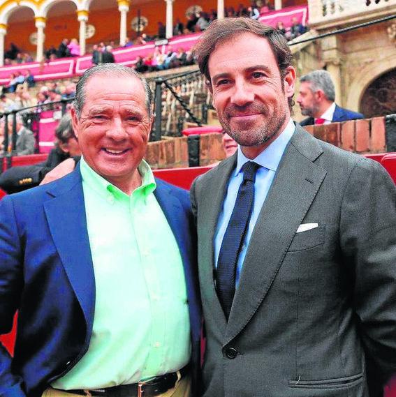 Paco Ojeda y Miguel Báez el 'Litri'.
