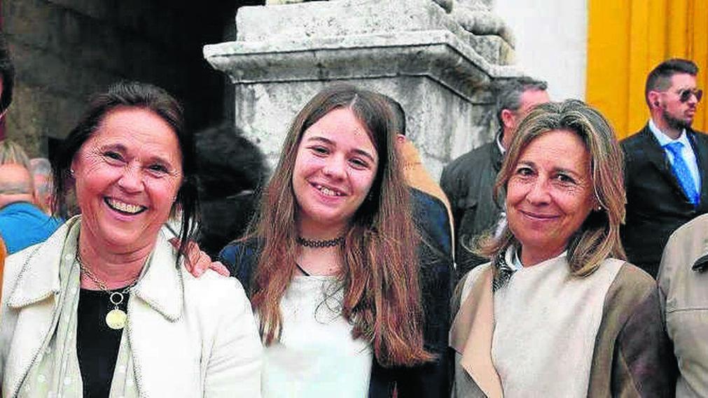 María José Lora, María Jurado y María Gómez.