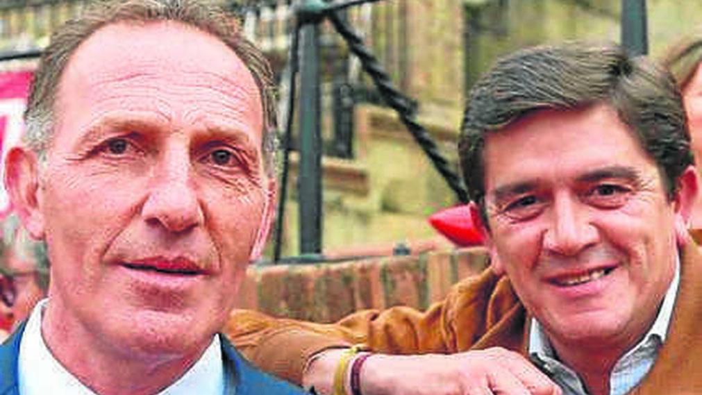 Ricky Trujillo y Santiago Ellauri.