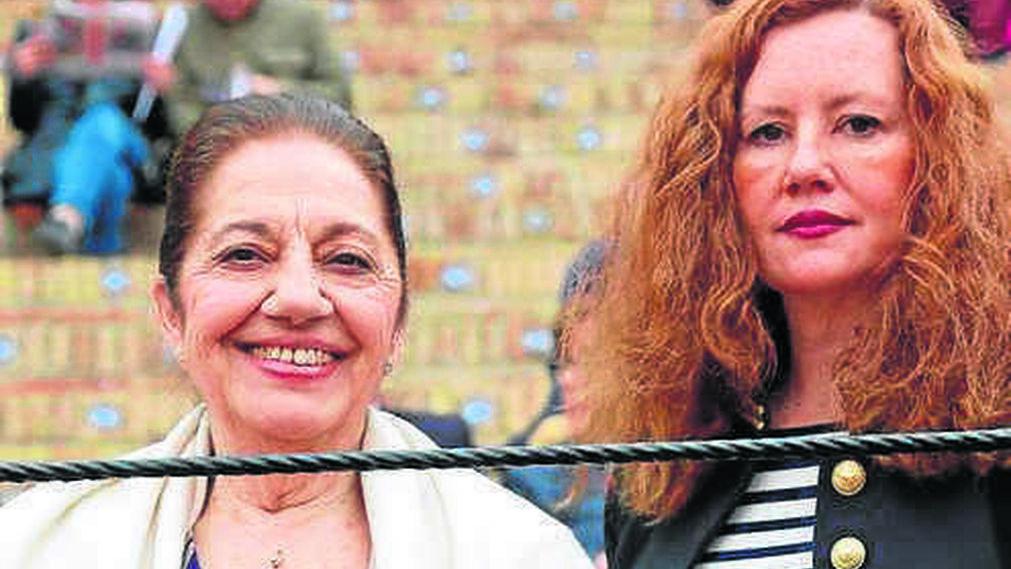 Loli Reina y Macarena García Otero.