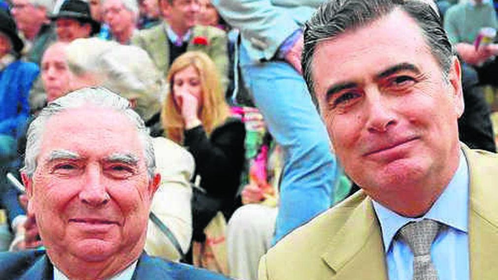 Enrique Moreno de la Cova y Alejandro Aznar.