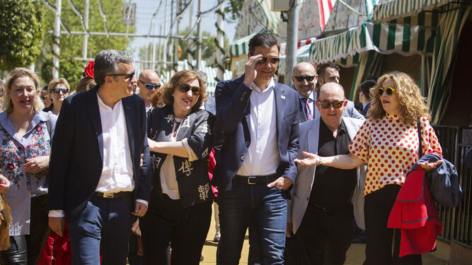 Ignacio López, María Jesús Castro, Pedro Sánchez, Rafael Román y Teresa Torres.