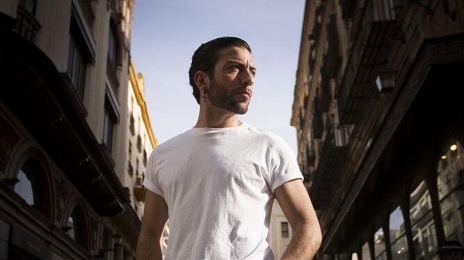 David Coria, retratado en una calle del centro de Sevilla.