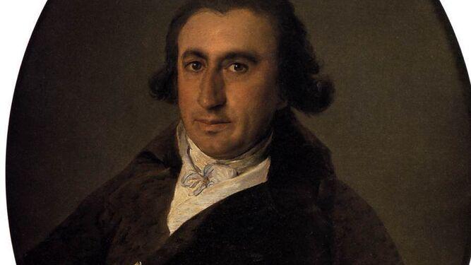 'Retrato de Martín Zapater' pintado por Goya en 1797. Colección del Bellas Artes de Bilbao