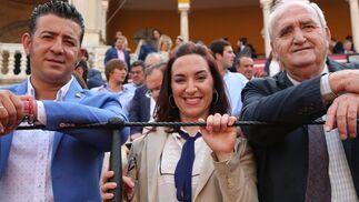 Emilio José Díaz, Ana Isabel Borrego y Javier Buendía