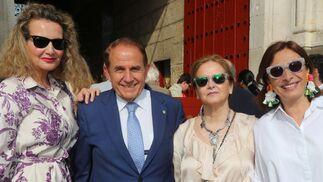 Marita Rufino, Antonio Pascual, Inma Romero y Pilar García