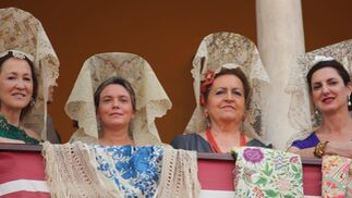 María ONeill, Isabel Liñán, Carmen Cobo y Cristina Ybarra