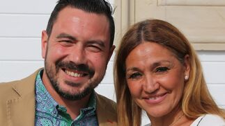 La bailaora Lalo Tejada y el cantaor José Canijo.