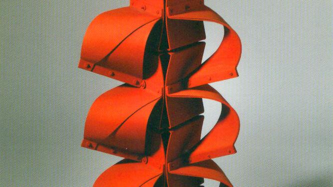 Detalle de 'Cascada', pieza del artista colombiano Edgar Negret.