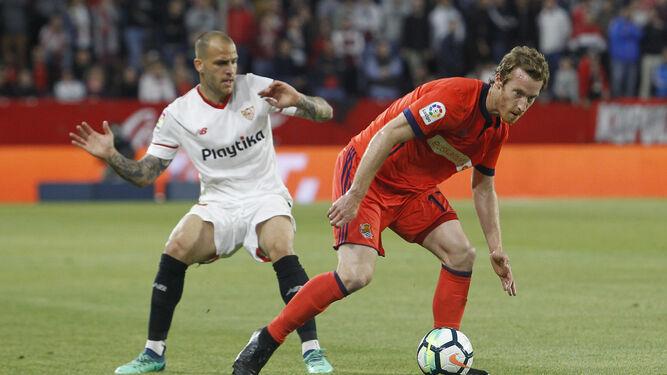 Las imágenes del Sevilla-Real Sociedad