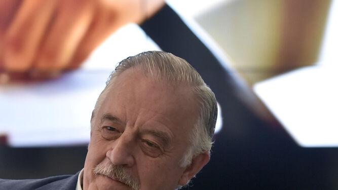 José Núñez, en el hotel Colón.