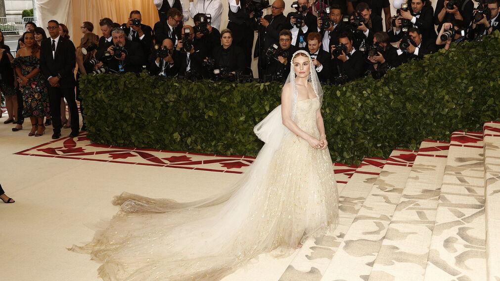 GALA MET 2018. Kate Bosworth de Oscar de la Renta.