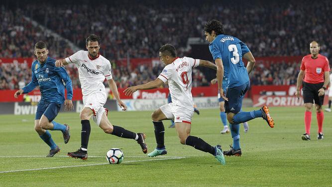 Las imágenes del Sevilla-Real Madrid