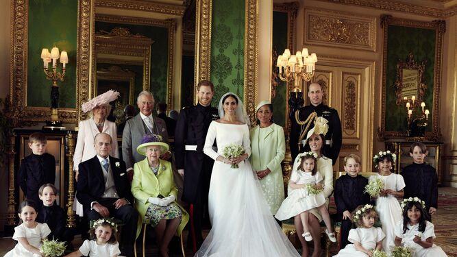 kensington difunde las fotos oficiales de la boda