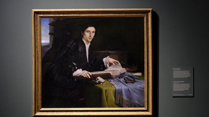 'Retrato de un caballero joven' de la Academia de Venecia