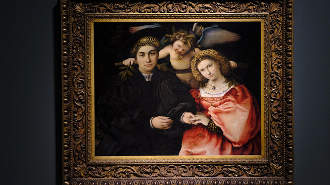 'Micer Marsilio Cassotti y su esposa Faustina' pertenece al Prado