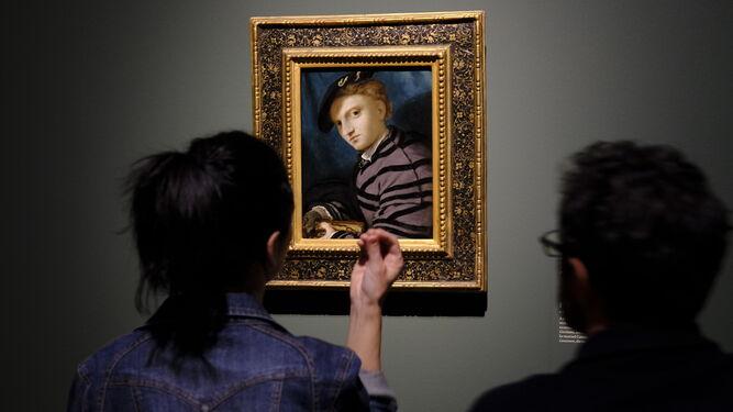 'Retrato de un joven con libro' procede del Castello Sforzesco de Milán