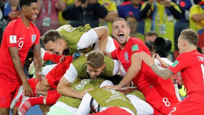 Los lanzamientos de penaltis del Colombia-Inglaterra