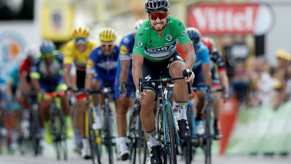 El sprint de Sagan