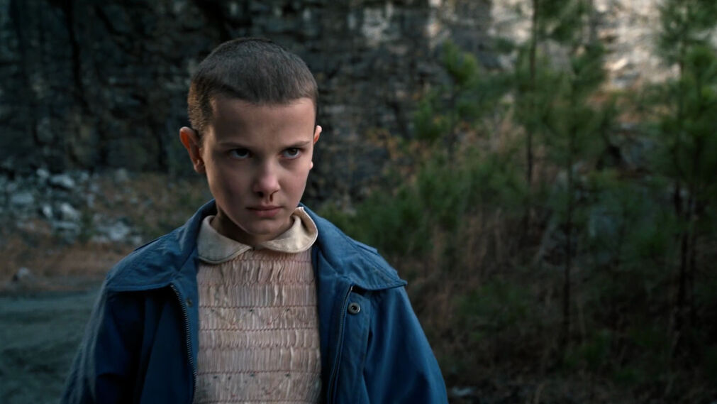 El rapado de Eleven (Millie Bobby Brown) en 'Stranger Things' (2016– )