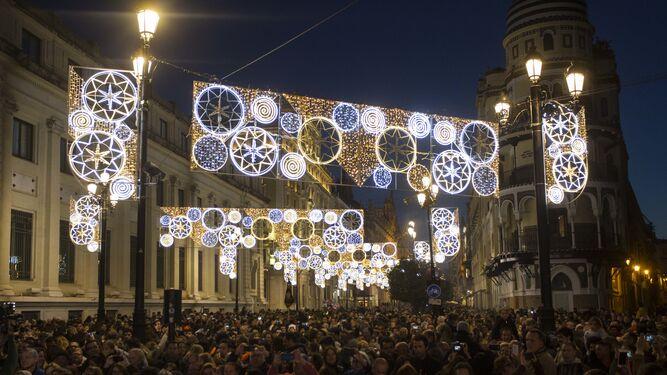 navidad 2018 sevilla alumbrado navideño Sevilla