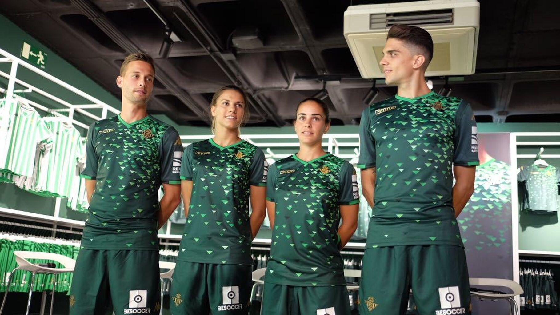 Camisetas 2018-19 El Betis presenta su segunda equipación 938adc71a4999