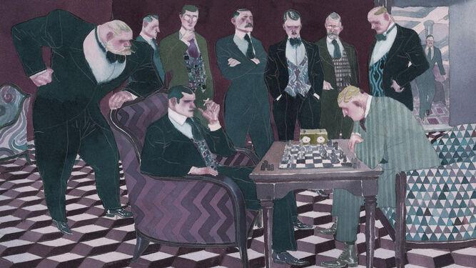 Resultado de imagen de el jugador de ajedrez david sala