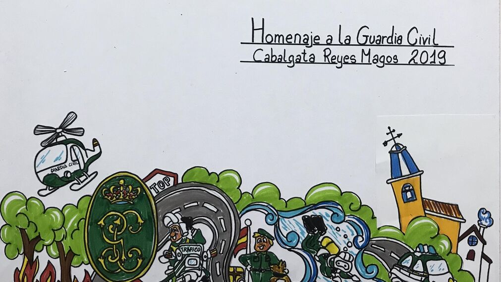 'Homenaje a la Guardia Civil'.