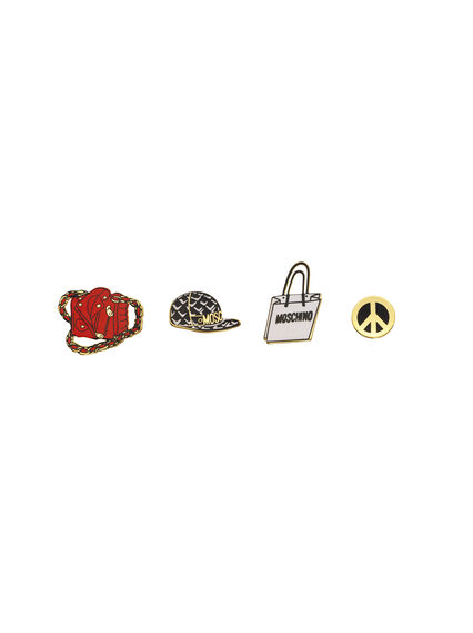 Pins de Moschino tv H&M 14,99 EUR