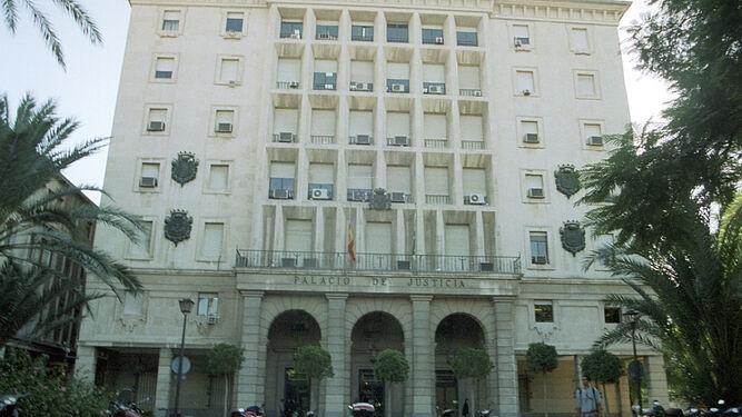 Edificio de la Audiencia en Sevilla