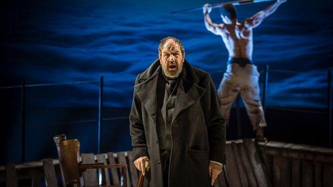 moby dick en el teatro la latina