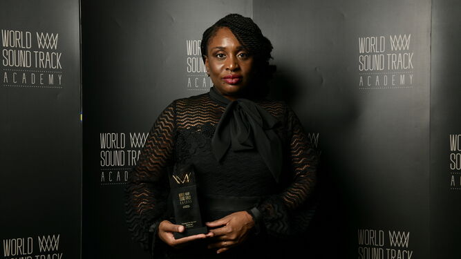 Tamar-Kali, ganadora del premio Discovery of the Year por 'Mudbound'.
