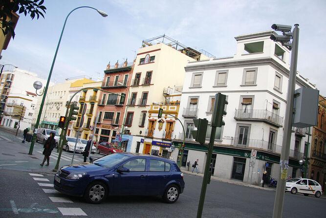 Cámaras de tráfico del Ayuntamiento.