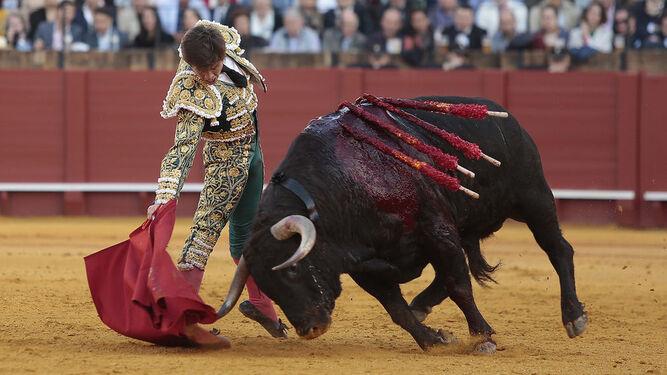 El Juli en la Feria de Abril de Sevilla de 2018