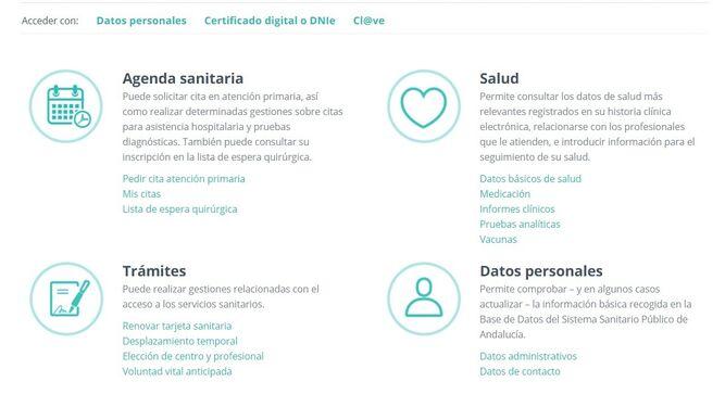 Pedir cita por internet centro de salud