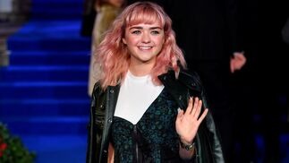 Maisie Williams asiste a la premiere europea de 'El Regreso de Mary Poppins'