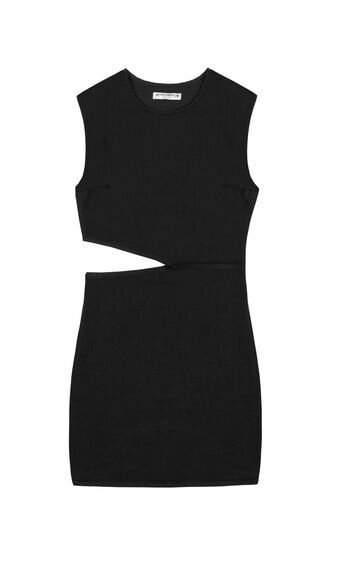 Vestido cut out de Pull & Bear. 22,99€