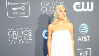 <p>Lady Gaga, de Calvin Klein by Appointment.</p><br>